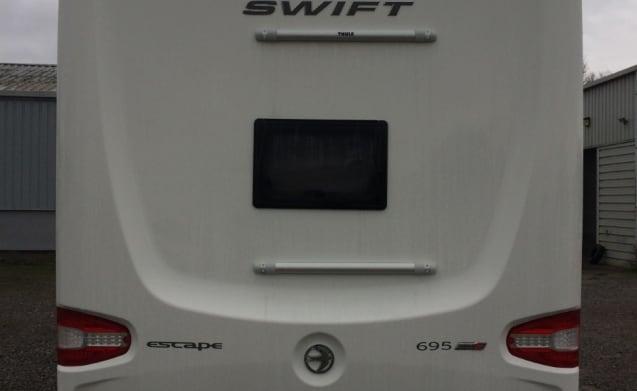 2019 Swift Escape 695 4 - 5 berth