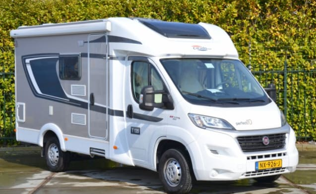 Beautiful New Camper For 3 Persons With French Bed Cc3