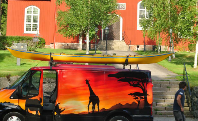 AFRICA – Do not be a boring camper!