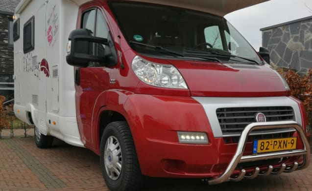 Happy Family Camper Louis – MC Louis Fiat Ducato Hapy Family Camper Stapelbed