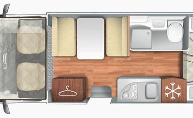 Brand New 6 berth Motorhome