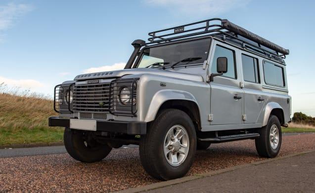 Land Rover Defender Camper -  A Unique Go-Anywhere Adventure