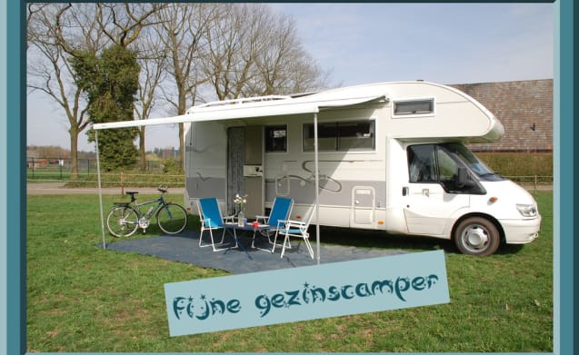 1 – 1 ford rimor 6 persoons camper