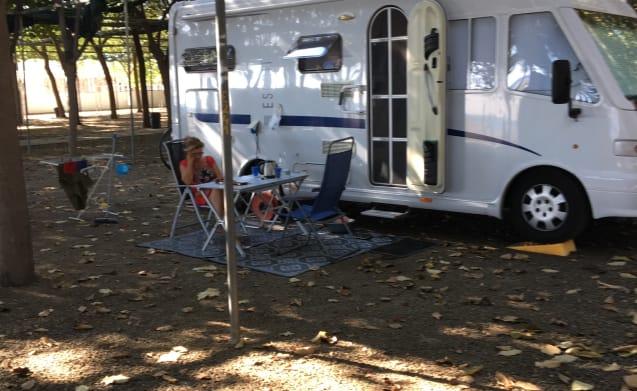 Integral camper 4 people !!