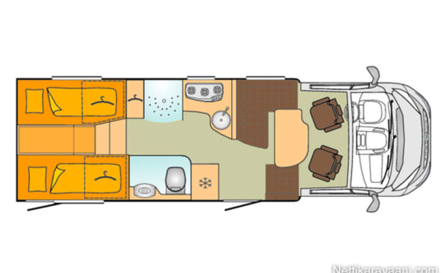 Comfortable, spacious, complete and spacious camper