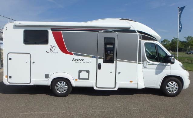 IXEO TIME IT 726 EDITION 30 – FULLY FURNISHED MOBILHOME FOR RENT (even made-up beds)