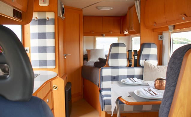 Duke, our Motorhome is ready to jump in and go.
