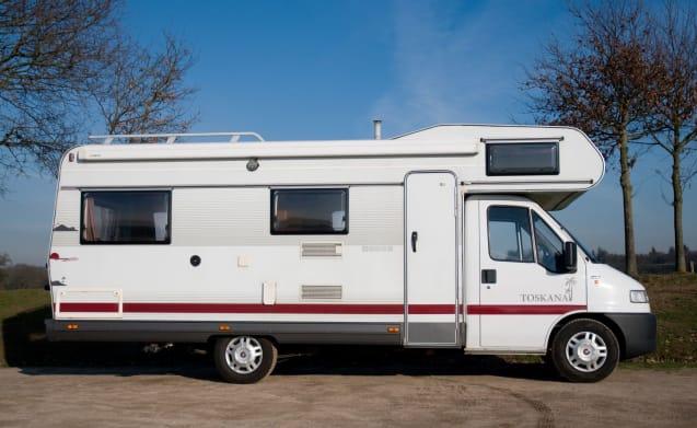 Toskana  – 4 - 6 person family camper
