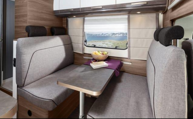 Hagel-new luxury and spacious 6-seater machine