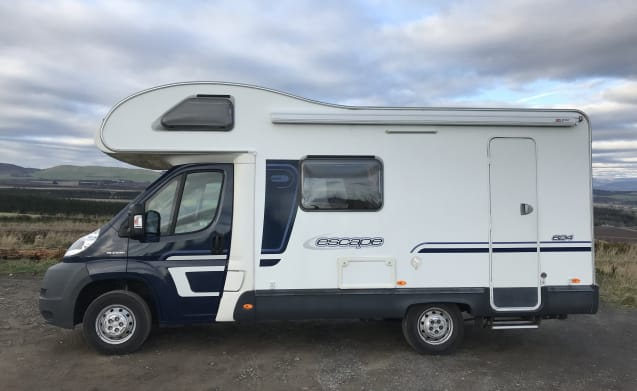 Swift 4 Berth ideal for families or couples Summer or Winter