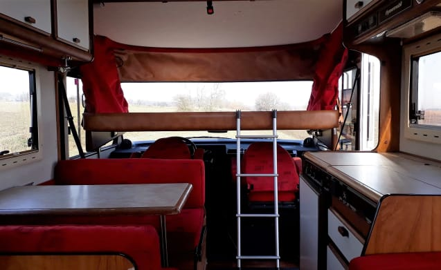 Beautiful classic Hymer based on Fiat Ducato!