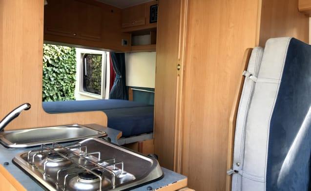 Happy Camper – Van Adria Win supercompacte camper om Puglia te verkennen
