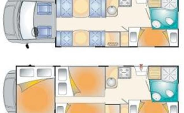CAMPER 7 SEATS