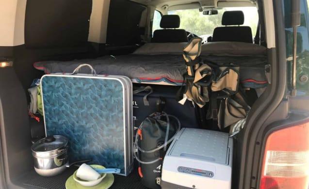 Volkswagent T5 Multivan camping version