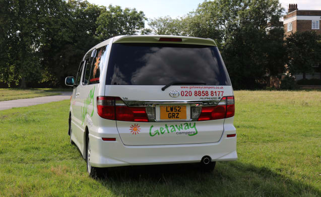 Getaway Campervan - 2 Berth UK & European Use