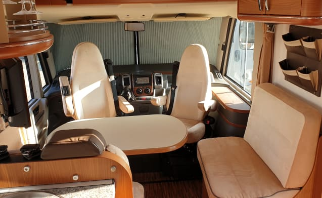Very luxurious and comfortable camper