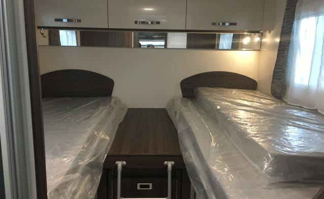 Nice comfortable family mobile home for 4 people