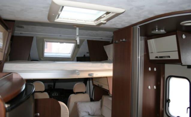 Ford Transit T-line camper  – completa squadra di rulli FORD Transit T-line xls, max.5 posti letto, Wifi gratuito