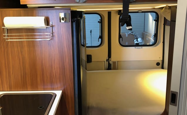 Adria Twin bus camper 4 sleeping places, raised roof