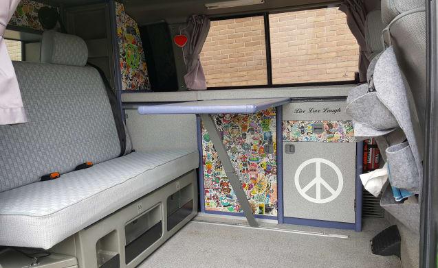 Nice Volkswagen T4 camper bus!