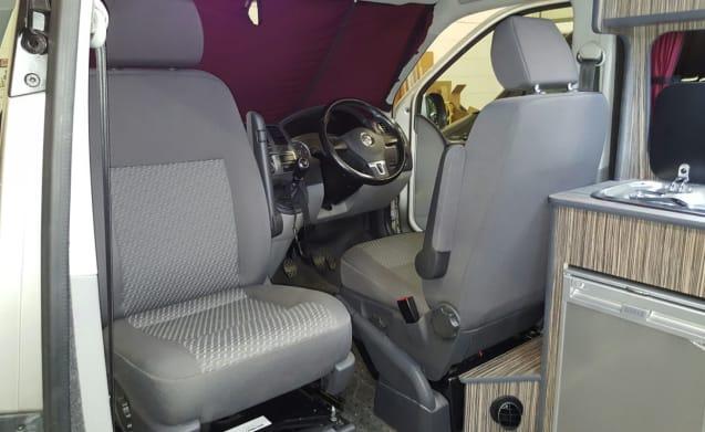 Bertie – Vanlifecamper - Freedom to Roam in our T5.1 Volkswagen Campervan 'Bertie'