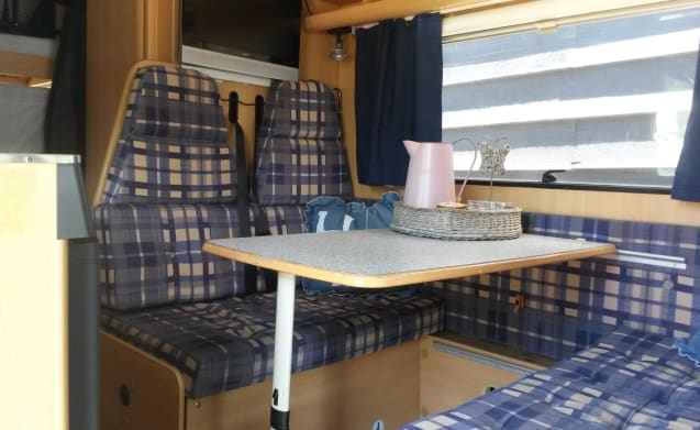 Fully equipped and spacious family camper