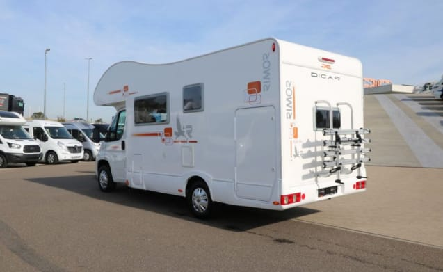 Perfect family motorhome for 6 - Rimor SEAL 7