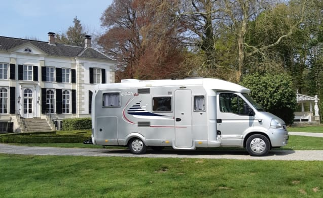 To rent our beautiful Hymer / Eriba camper