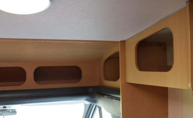 Carioca 595P – Compacte camper van 590cm Carioca 595P