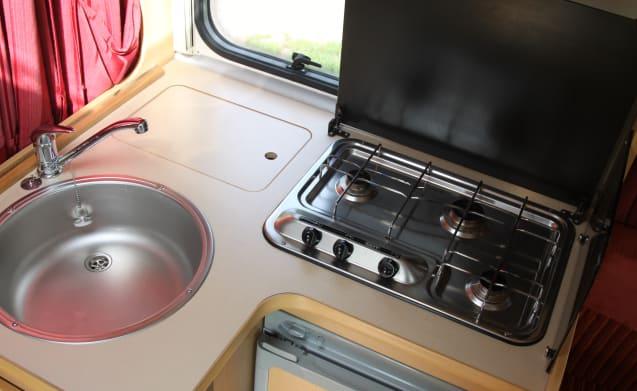 Carioca 595P – Kompaktes Wohnmobil von 590 cm Carioca 595P