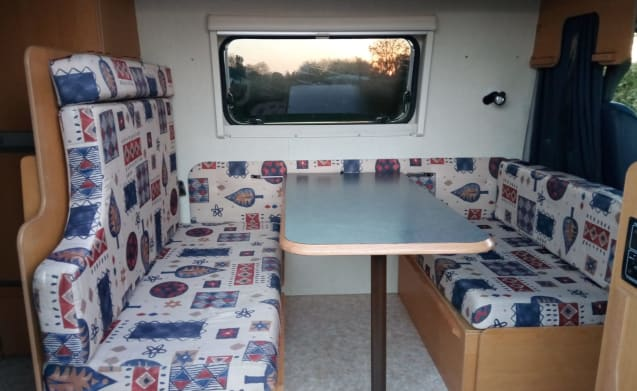 "Compact bus camper ""My Beauty"" is waiting for you !!!!"
