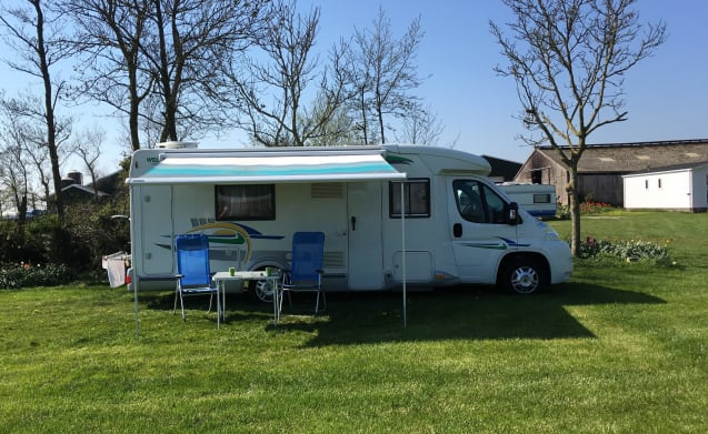 Carefree on a motorhome trip with 2 or 3 people!