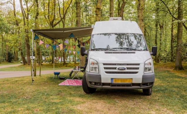 Villa Kakelbont  – Gezellige 2 persoons ford camperbus