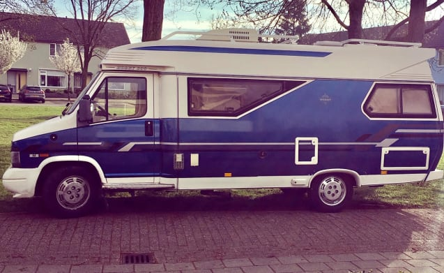 Hobby600 – Cozy retro-camper for an adventurous holiday