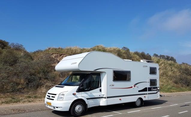Space – Super spacious 6-person camper / hibernator? / Hibernate?