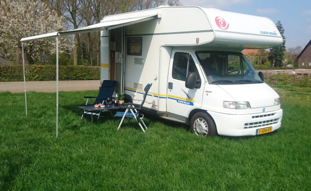 Fiat Ducato – Knusse 4 persoons Eura Mobil camper