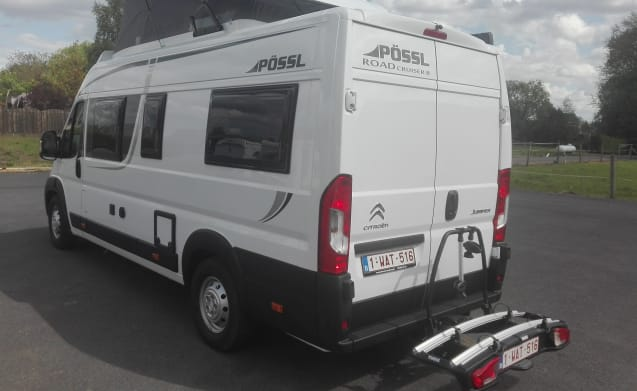 Possl Road cruiser with lifting roof from 04/2019