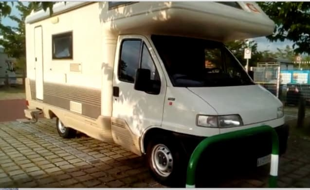 Camper Mizar 150 50 km from the Ligurian Riviera