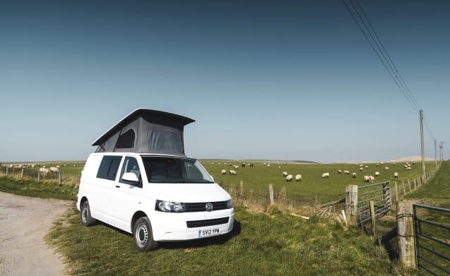 Bonnie – Luxueuze 4berth VW-campervan (Bonnie)