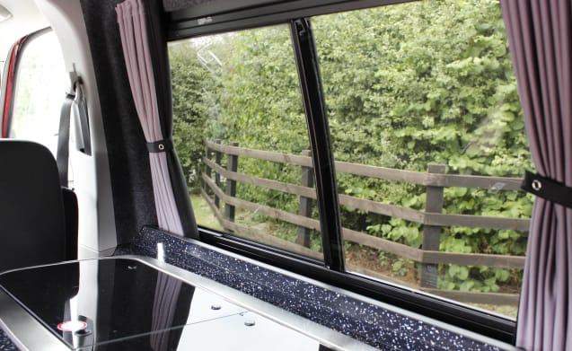 Splendido furgone camper VW T6