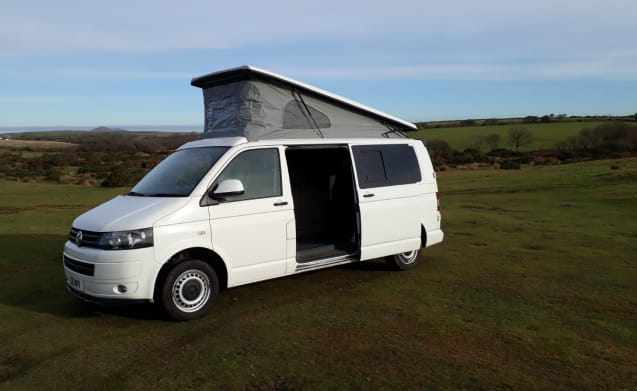 Jay Jay, 4 berth VW T5 surf van