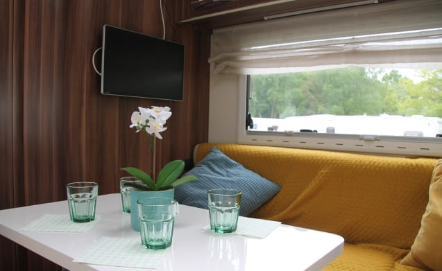 New for 2019 - 6 berth - Ideal for families or groups of friends