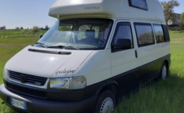 Volkswagen T4 California Westfalia Rent Van in Puglia