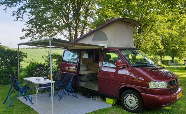 The adventure awaits ..... check our VW camperbus T4!