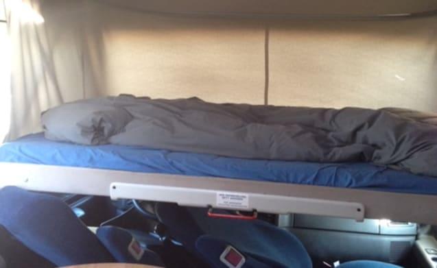 Dibbus – Compatto confortevole Camper per 2 persone