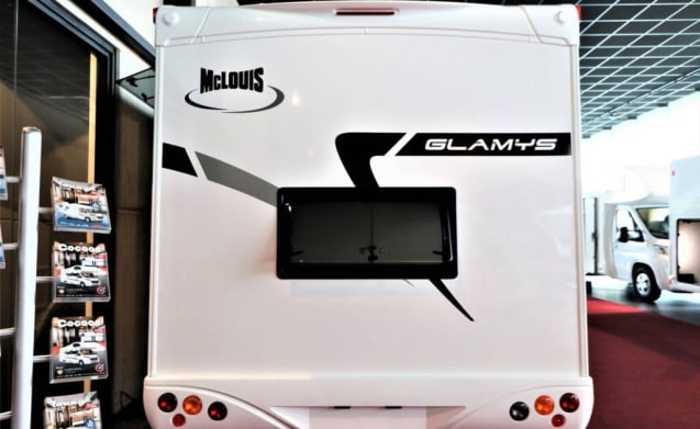 Mclouis Glamys 40 Gold - Spacious alcove mobile home 4 to 6 people