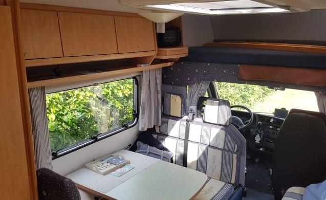Ruimtewonder – Compact and cozy Burstner a532