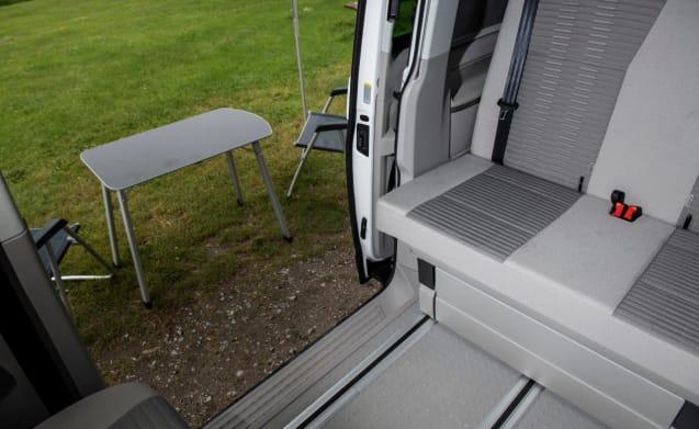 VAN GOGH – VW CALIFORNIA CAMPER RENTAL, SUPER HIGH SPEC INC BIKE RACK