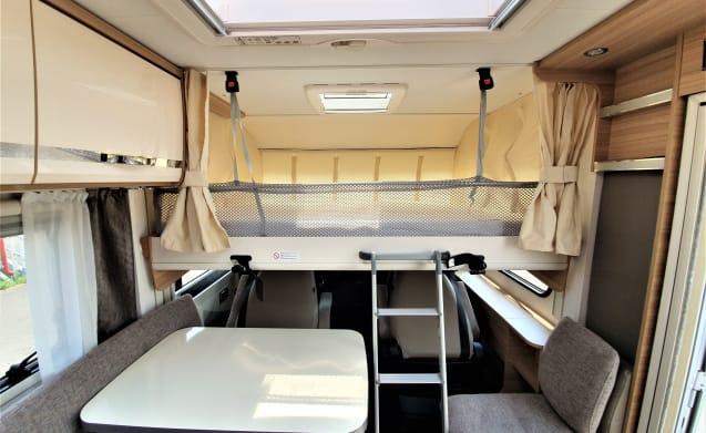 Luxe integraal camper!!
