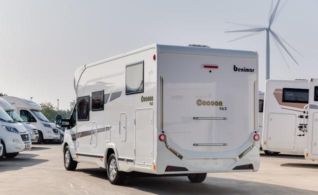 BEL001 – Benimar Cocoon 463 - nieuw model 2019 - Automaat - BEL001